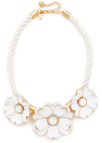 Kate Spade Bright Blossom Flower Statement Necklace