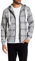 Smash Wear Plaid Zip Front Hoodie