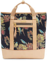 Master-piece Co Pink and Navy Floral Tote