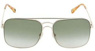 Chloé 58MM Aviator Sunglasses