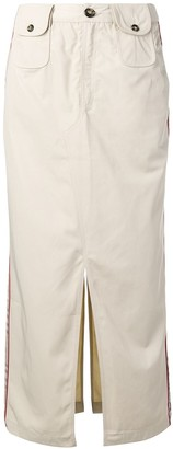 Andrea Crews Straight-Fit Midi Skirt