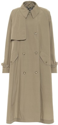 Stella McCartney Alexa cotton trench coat