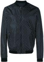 Dolce & Gabbana Reversible Polka Dot Bomber Jacket - men - Polyamide - 50