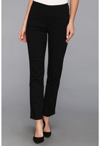 Miraclebody Jeans Judy Pull-On Ankle Jean in Black