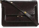Marni Trunk python-leather shoulder bag