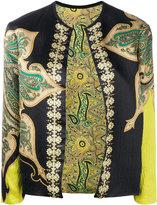 Etro paisley print jacket - women - Silk/Spandex/Elastane/Viscose - 46