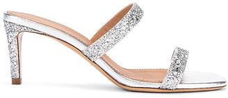 Mansur Gavriel Fino Sandal in Silver | FWRD
