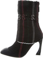 Christian Dior Woven Songe Ankle Boots