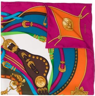 Versace Barocco Rodeo print scarf