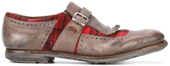 Church's bicolour monk shoes