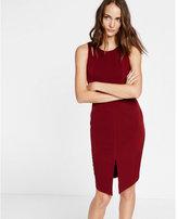 Express cut-out shoulder midi dress
