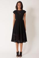 Black Halo Polaris Dress