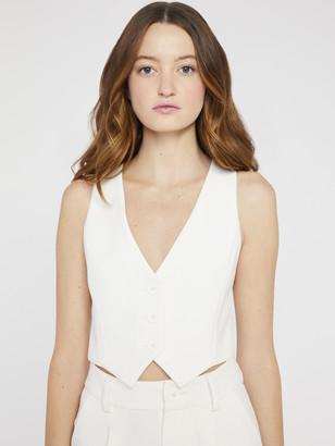 Alice + Olivia Donna Cropped Vest