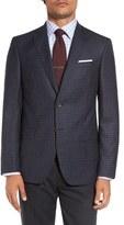 David Donahue Men's 'Connor' Classic Fit Check Wool Sport Coat