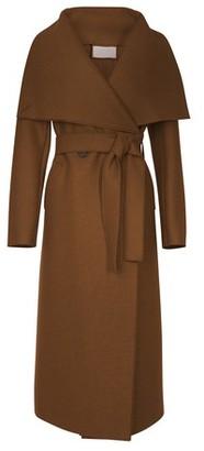 Harris Wharf London Pressed wool Volcano coat