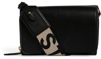 Stella McCartney Logo Strap Wallet Bag
