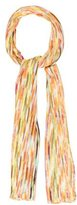 Missoni Abstract Patterned Knit Scarf