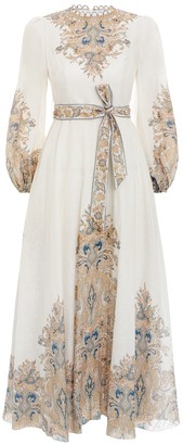 Zimmermann Freja Paisley Long Dress