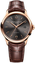 Baume & Mercier Men's Swiss Automatic Clifton Dark Brown Alligator Leather Strap Watch 39mm M0A10059