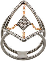Diane Kordas diamond embellished ring