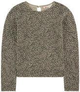 Bonpoint Leopard cashmere sweater