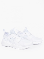 Nike White Air Huarache Run Ultra Sneakers