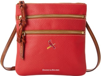 Dooney & Bourke MLB Cardinals N S Triple Zip Crossbody