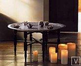 Vintage Moroccan Tea Tray Side Table