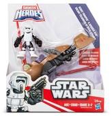 Playskool Heroes Star Wars Galactic Heroes Speeder Bike and Scout Trooper