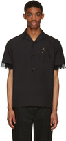 Kolor Black Button-Down Shirt