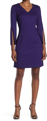 Trina Turk Bouquet Split Sleeve Dress