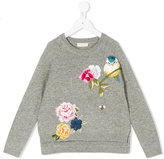 MonnaLisa floral embroidered jumper