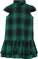 Ralph Lauren Plaid cotton-blend dress 7-16 years