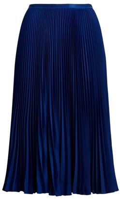 Ralph Lauren Pleated Midi Skirt