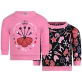 Kenzo KidsGirls Fuchsia Only You Sweater