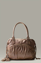 'Vixen' Ruched Dome Satchel