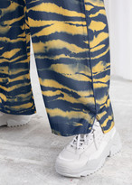 And other stories Relaxed Tiger Print Trousers