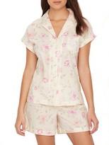 Lauren Ralph Lauren Classic Floral Woven Pajama Set