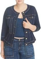Marina Rinaldi x Ashley Graham Canberra Denim Jacket
