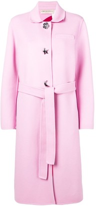 Emilio Pucci Single-Breasted Belted Coat