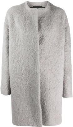 Giambattista Valli Single Breasted Midi Coat