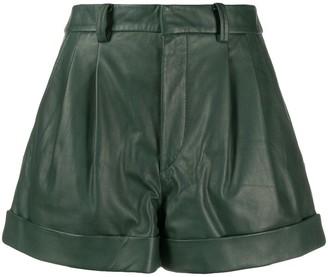Etoile Isabel Marant Pleated High-Waisted Shorts