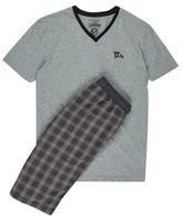 Burton Mens Tokyo Laundry Grey Checked Shorts*