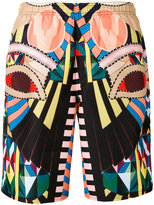 Givenchy Crazy Cleopatra printed swimming trunks