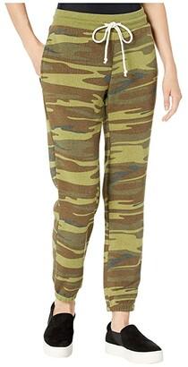 Alternative Classic Printed Eco-Fleece Jogger Pants (Camo) Women's Casual Pants