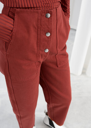 And other stories Straight Fit Workwear Trousers