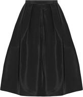 Tibi Silk-faille skirt