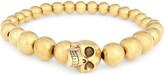 Alexander McQueen Skull bead bracelet