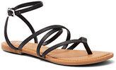 New York & Co. Ankle-Strap Flat Sandal