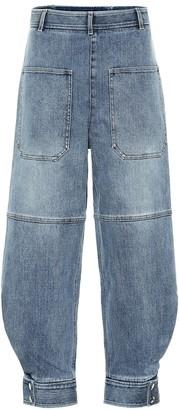 Tibi Sculpted high-rise jeans